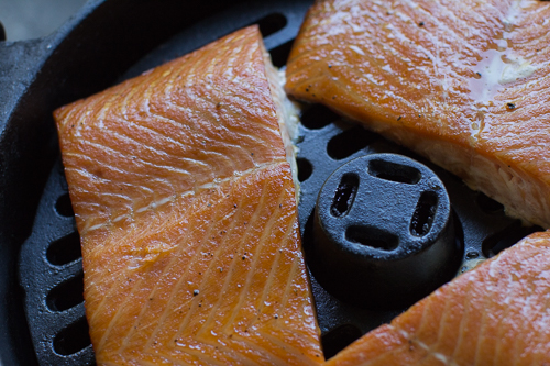 Smoked Salmon in Ultimate Dutch Oven