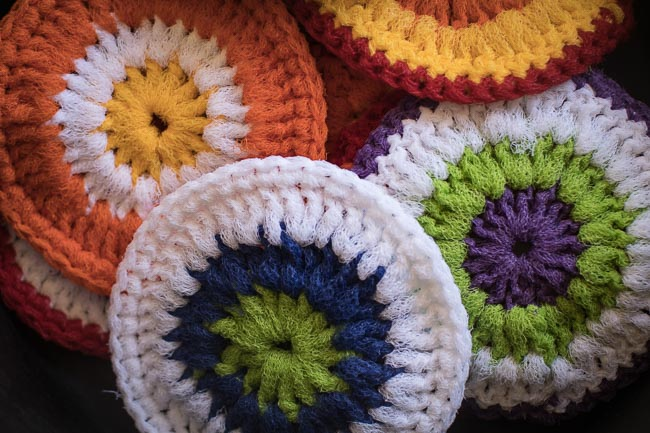Close Up of Scrubbies